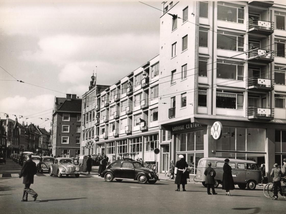 foto 20  rondrit 7-4-1956 opening Oosterstr