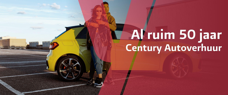 Century Autoverhuur banner
