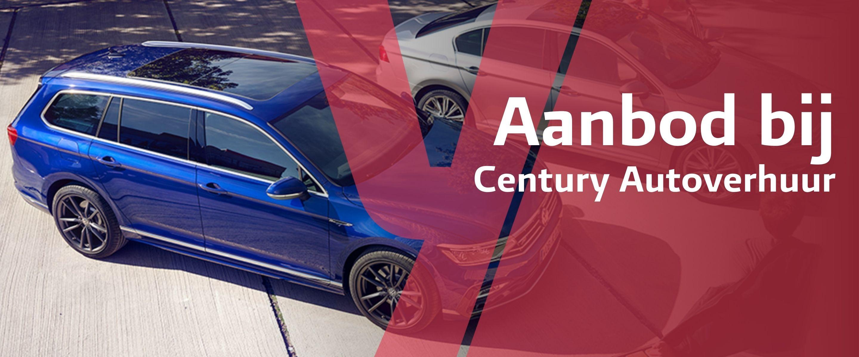 Century Autoverhuur Aanbod banner