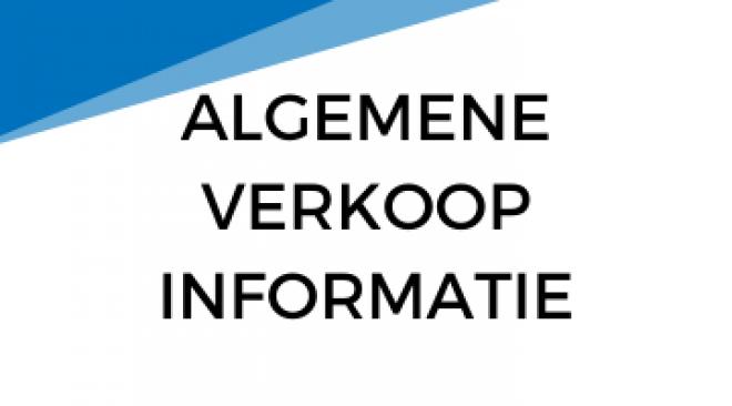 ALGEMENE VERKOOPINFO 360 x 200