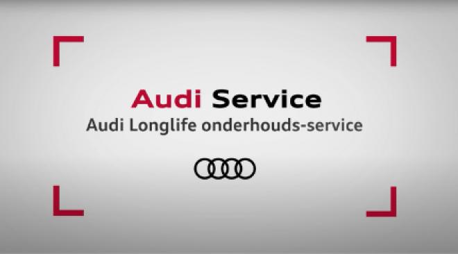 AUDI LONGLIFE ONDERHOUDS SERVICE