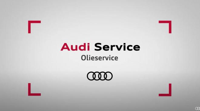 Afbeelding olie verversen Audi Service