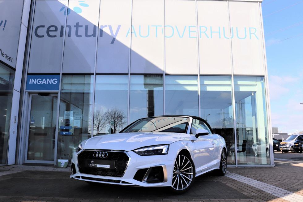 Auto huren _ Audi huren _ Autoverhuur _ Audi A5 Cabrio
